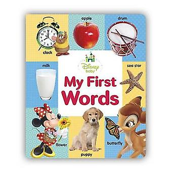 My First Words by Disney Storybook Art Team - 9781484709153 Book