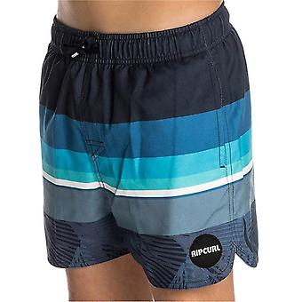 Rip Curl Navy Freeline Volley-13 Inch Kids Swimming Shorts