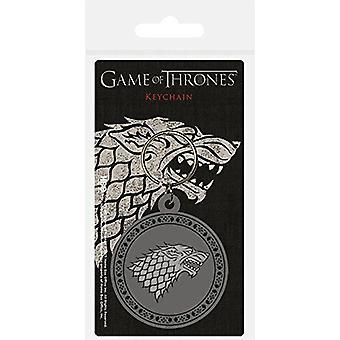 Game Of Thrones House Stark Flexible PVC Keyring (bst)