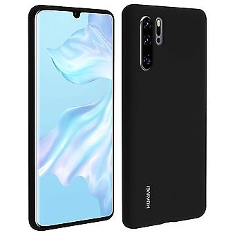Huawei P30 Pro Soft-Touch Case Semi-rigid Silicone - Black