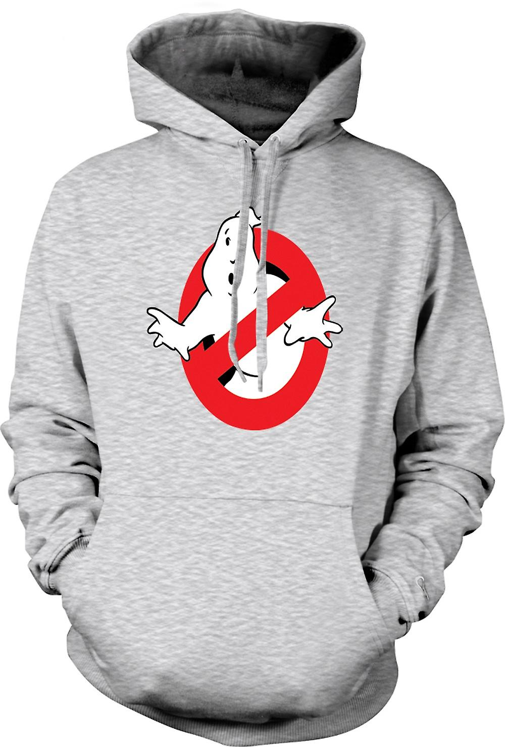 Felpa con cappuccio uomo - Logo di Ghostbusters