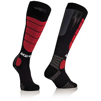 Acerbis Black-Red 2018 Impact Kids MX Socken