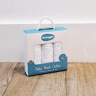 Shnuggle Baby Tvätta dukar 3 Pack