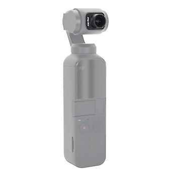 El filtro de lente de ojo de pez Dji mejora la transmitancia de luz hd filtro de lente de calidad para el bolsillo dji osmo