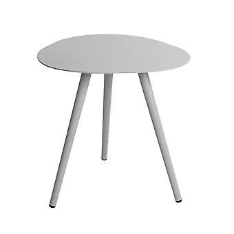 Flughafen7 | Smile Lounge Tisch 50cm |  Hellgrau | Gartentische