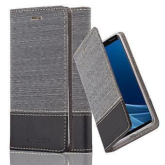 Cadorabo Hülle für Nokia 9 2018 Case Cover - Handyhülle mit Magnetverschluss, Standfunktion und Kartenfach – Case Cover Schutzhülle Etui Tasche Book Klapp Style