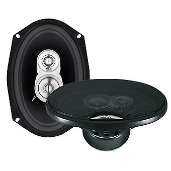 1 pair Mac audio edition 693, 3 way oval speaker 260 Watt, new goods