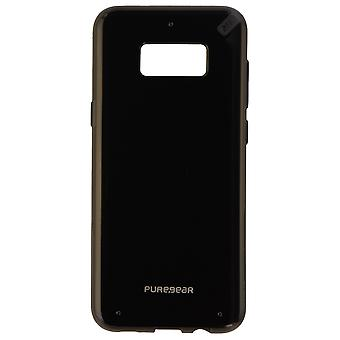 PureGear Slim Shell Serie Schutzhülle Abdeckung für Galaxy S8+ - Schwarz