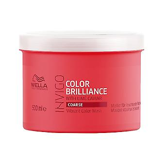 Wella INVIGO Color Brilliance Vibrant Color Mask For Coarse Hair 500ml