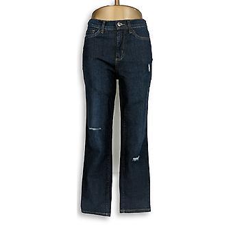 Denim & Co. Women's Jeans Classic Ankle Blue A304472