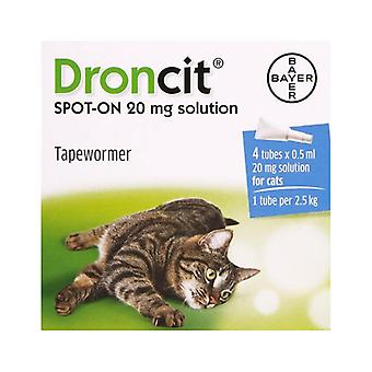 Droncit Spot-On for Cats - 4 Pack