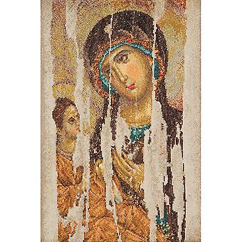 Icon Mother Of God On Aida Counted Cross Stitch Kit 8 3 4