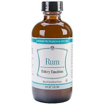 Artificial Flavor Bakery Emulsions 4 Ounces Rum 0806 0746