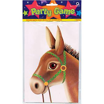 Party Game Pin The Tail On The Donkey 4976