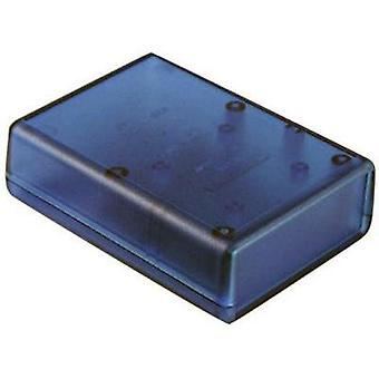 Hammond Electronics 1593PTBU Transparent ABS Universal Enclosure Blue 92 x 66 x 28 mm