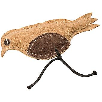 Dura Fused Leather Cat Toy -Bird 4