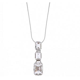Martine Wester Crystal Angelina Pendant Necklace