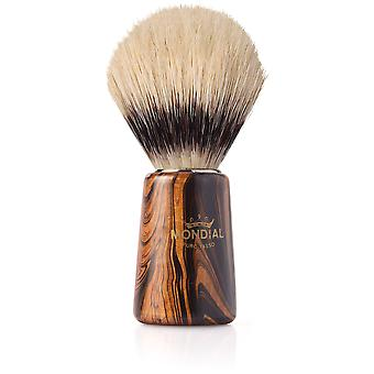 Mondial 1908 Wood Shaving Brush SintéticoDiámetro 18 Mm (Man , Shaving , Brushes)