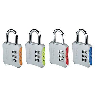 Masterlock Reset Combi Padlock 40mm - Colors