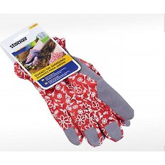 Stocker garden Gloves Garden 8 / S - Red (Garden , Gardening , Tools , Accessories)
