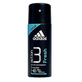 Adidas Fresh Deodorant Spray 200 Ml (Man , Cosmetics , Body Care , Deodorants)