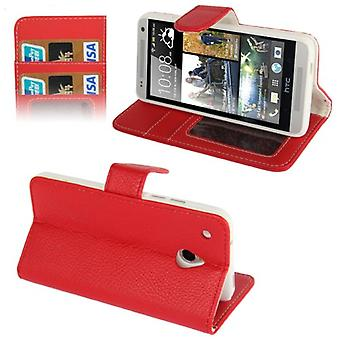 Cell phone case for mobile HTC one mini M4 Red