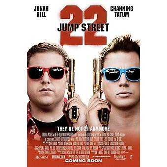 Постер фильма 22 Джамп стрит (11 x 17)
