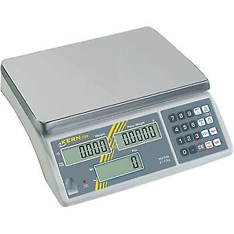 Counting scales Kern CXB 30K2 Weight range 30 kg Readability 2 g mains-powered, rechargeable Silver