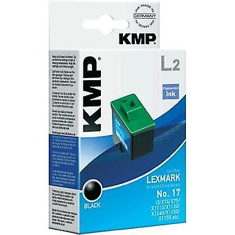 KMP Ink replaced Lexmark 17 Compatible Black