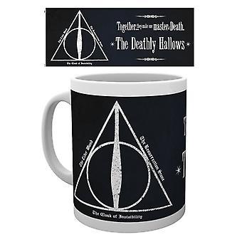 Harry Potter reliquias de la muerte taza