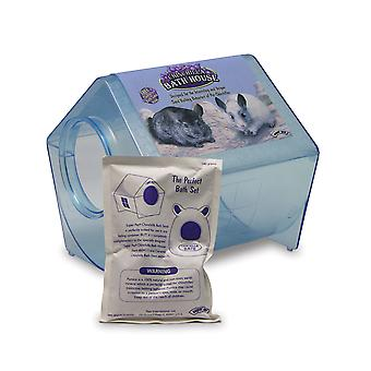 Superpet Chinchilla Bath House 23x23x21.5cm (9x9x8.5