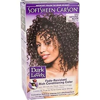 Dark & Lovely D & L HC Black 372 (Woman , Hair Care , Hair dyes , Hair Dyes)