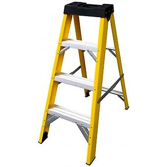 4 battistrada vetro fibra scaletta Lyte Heavy Duty Stepladder cassaforte elettrica