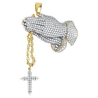 Trailer de Premium Bling - manos orando plata esterlina 925