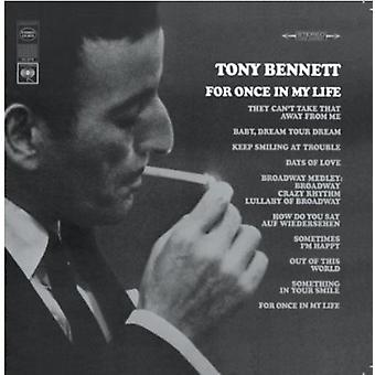 Tony Bennett - For Once in My [CD] USA import