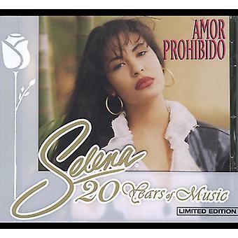 Selena - Amor Prohibido [CD] USA importerer