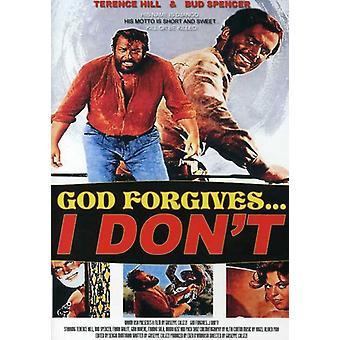 Gud tilgiver jeg ikke [DVD] USA import