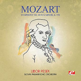 Mozart - Symphony No. 40 in G Minor K. 550 [CD] USA import