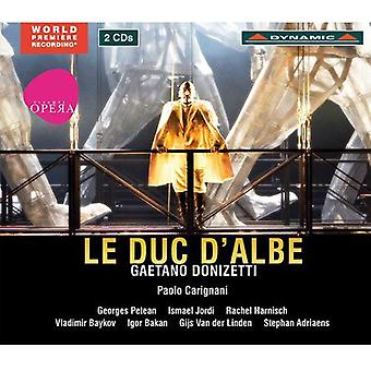G. Donizetti - Gaetano Donizetti: Importación de Estados Unidos Le Duc D'Albe [CD]