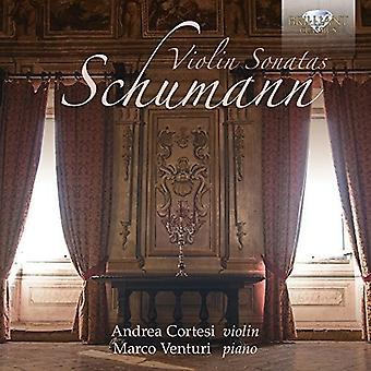 Cortesi, Andrea/Venturi, Marco - Schumann: Sonates pour violon [CD] USA import