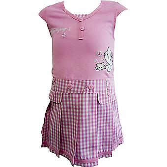 Hello Kitty niñas Charmmy Kitty manga Vestido