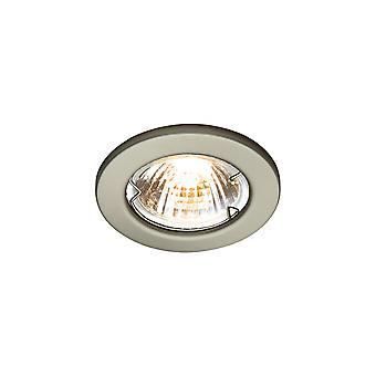 LED Robus Rida GU10 240V Downlight, cromo spazzolato