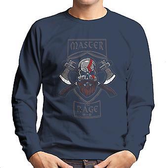 Master raseri Kratos Gud for krig mænd Sweatshirt