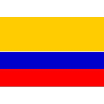 Columbian Flag 5ft x 3ft With Eyelets For Hanging