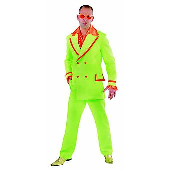 Men costumes Men Fluo Suit disco for men