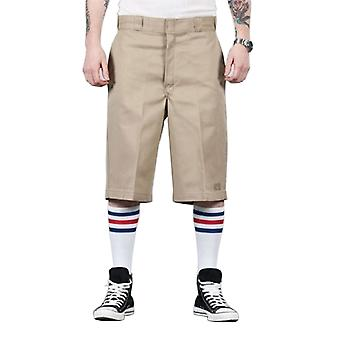 Dickies - 13'' Flat Front Work Short - Khaki Dickies42283 Classic Mens Work Shor