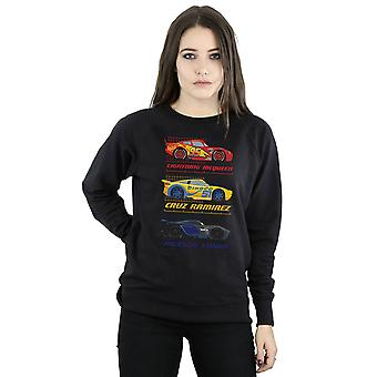 Disney Women's Cars Racer Profile Sweatshirt
