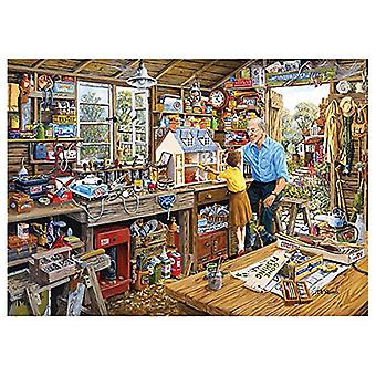 Gibsons Grandad's Workshop Jigsaw Puzzle (1000 Pieces)
