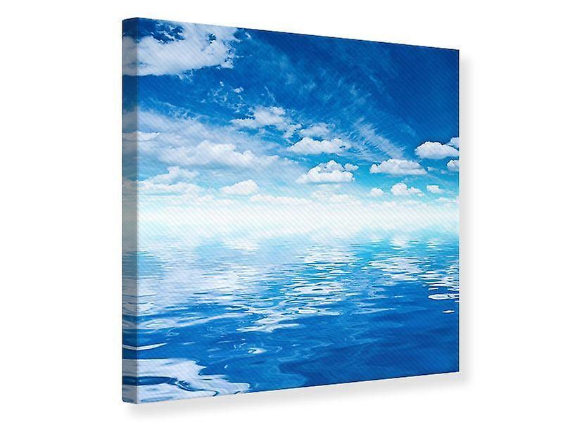 Toile d'impression ciel et eau