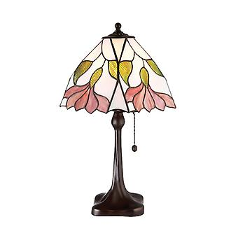 Botanica Medium Tiffany stil bordslampa - interiör 1900 63962